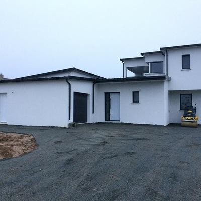 Construction sur la commune de Saint-Trimoël d''une Maison Individuelle de 140 m²