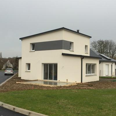 Construction d''une Habitation contemporaine à Plédran (22 ) -Agglomération de St Brieuc-
