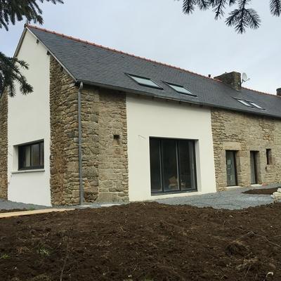 Rénovation complète d''une Habitation à Trédaniel - Côtes-d''Armor (22)