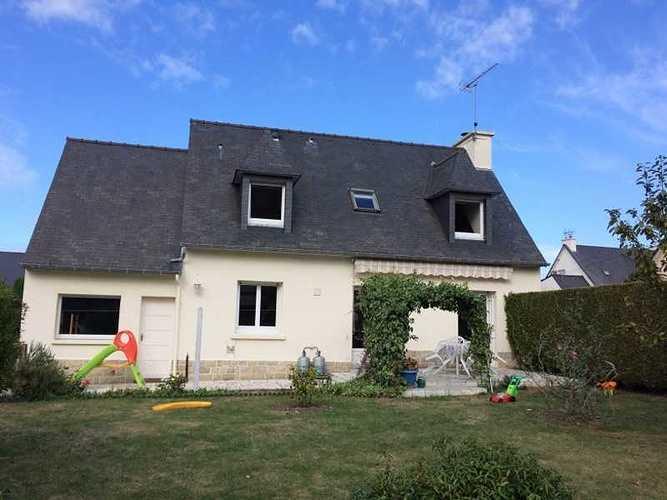 Extension bois et Rénovation d''une maison à Pléneuf Val André img6957