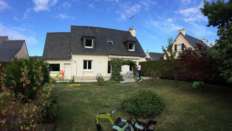 Extension bois et Rénovation d''une maison à Pléneuf Val André img6958